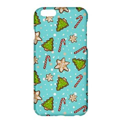 Ginger Cookies Christmas Pattern Apple Iphone 6 Plus/6s Plus Hardshell Case