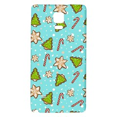 Ginger Cookies Christmas Pattern Galaxy Note 4 Back Case by Valentinaart