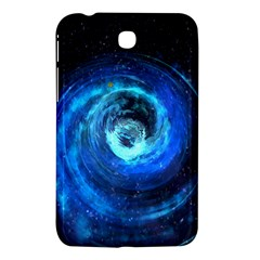 Blue Black Hole Galaxy Samsung Galaxy Tab 3 (7 ) P3200 Hardshell Case  by Mariart