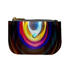 Colorful Glow Hole Space Rainbow Mini Coin Purses by Mariart