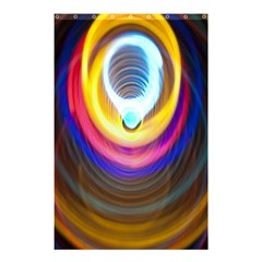 Colorful Glow Hole Space Rainbow Shower Curtain 48  X 72  (small)  by Mariart