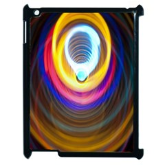 Colorful Glow Hole Space Rainbow Apple Ipad 2 Case (black) by Mariart