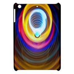 Colorful Glow Hole Space Rainbow Apple Ipad Mini Hardshell Case by Mariart