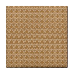 Cake Brown Sweet Tile Coasters by Mariart