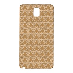 Cake Brown Sweet Samsung Galaxy Note 3 N9005 Hardshell Back Case by Mariart