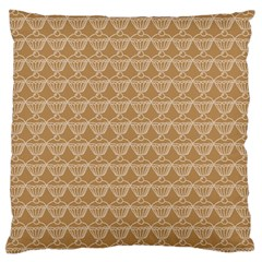 Cake Brown Sweet Large Flano Cushion Case (one Side) by Mariart