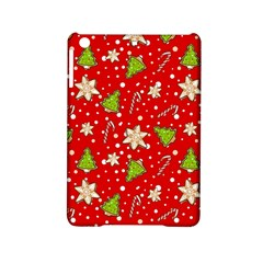 Ginger Cookies Christmas Pattern Ipad Mini 2 Hardshell Cases by Valentinaart