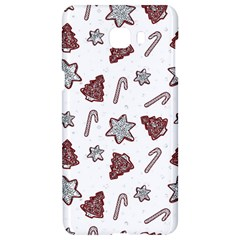 Ginger Cookies Christmas Pattern Samsung C9 Pro Hardshell Case