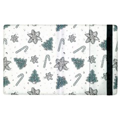 Ginger Cookies Christmas Pattern Apple Ipad 3/4 Flip Case