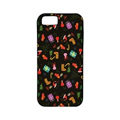 Christmas Pattern Apple Iphone 5 Classic Hardshell Case (pc+silicone)