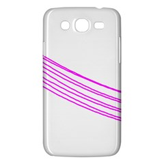 Electricty Power Pole Blue Pink Samsung Galaxy Mega 5 8 I9152 Hardshell Case  by Mariart