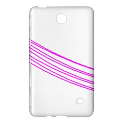 Electricty Power Pole Blue Pink Samsung Galaxy Tab 4 (7 ) Hardshell Case  by Mariart
