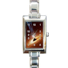 Coming Supermassive Black Hole Century Rectangle Italian Charm Watch