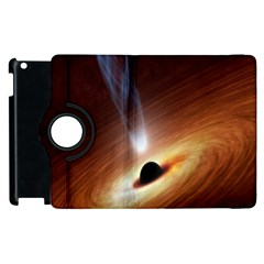 Coming Supermassive Black Hole Century Apple Ipad 3/4 Flip 360 Case by Mariart