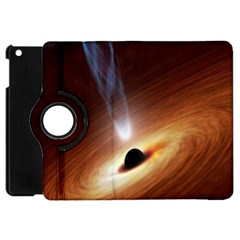 Coming Supermassive Black Hole Century Apple Ipad Mini Flip 360 Case by Mariart