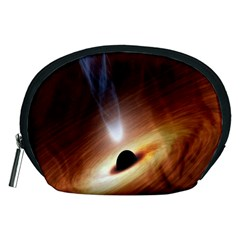 Coming Supermassive Black Hole Century Accessory Pouches (medium)  by Mariart