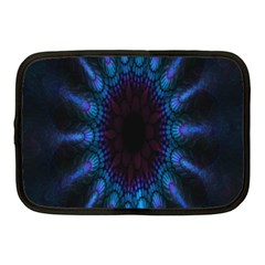 Exploding Flower Tunnel Nature Amazing Beauty Animation Blue Purple Netbook Case (medium)  by Mariart