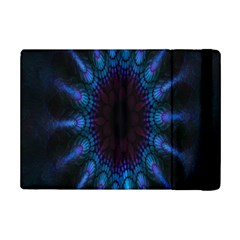 Exploding Flower Tunnel Nature Amazing Beauty Animation Blue Purple Ipad Mini 2 Flip Cases by Mariart