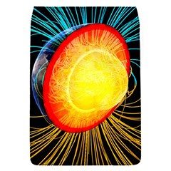Cross Section Earth Field Lines Geomagnetic Hot Flap Covers (s)  by Mariart
