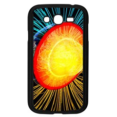 Cross Section Earth Field Lines Geomagnetic Hot Samsung Galaxy Grand Duos I9082 Case (black)