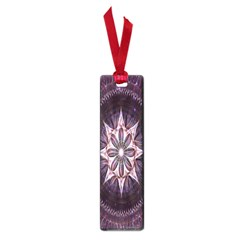 Flower Twirl Star Space Purple Small Book Marks by Mariart