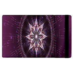 Flower Twirl Star Space Purple Apple Ipad Pro 12 9   Flip Case by Mariart