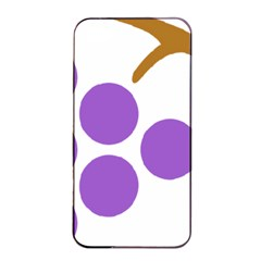 Fruit Grape Purple Apple Iphone 4/4s Seamless Case (black) by Mariart
