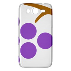 Fruit Grape Purple Samsung Galaxy Mega 5 8 I9152 Hardshell Case  by Mariart