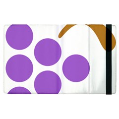 Fruit Grape Purple Apple Ipad Pro 12 9   Flip Case by Mariart