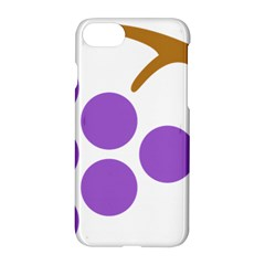 Fruit Grape Purple Apple Iphone 7 Hardshell Case by Mariart