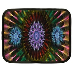 Flower Stigma Colorful Rainbow Animation Gold Space Netbook Case (xl)  by Mariart