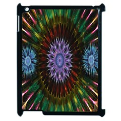 Flower Stigma Colorful Rainbow Animation Gold Space Apple Ipad 2 Case (black) by Mariart