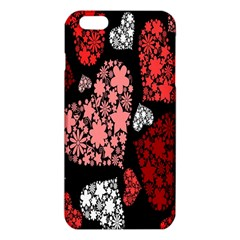Floral Flower Heart Valentine Iphone 6 Plus/6s Plus Tpu Case by Mariart