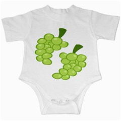 Fruit Green Grape Infant Creepers by Mariart