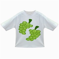 Fruit Green Grape Infant/toddler T Shirts by Mariart