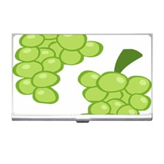 Fruit Green Grape Business Card Holders by Mariart