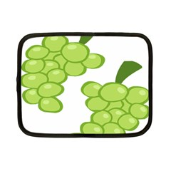 Fruit Green Grape Netbook Case (small)  by Mariart