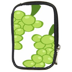 Fruit Green Grape Compact Camera Cases by Mariart