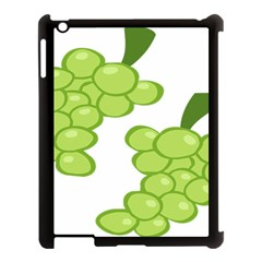 Fruit Green Grape Apple Ipad 3/4 Case (black) by Mariart