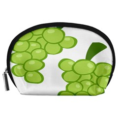 Fruit Green Grape Accessory Pouches (large)