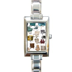Furnitur Chair Rectangle Italian Charm Watch by Mariart