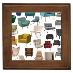 Furnitur Chair Framed Tiles by Mariart