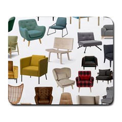 Furnitur Chair Large Mousepads by Mariart