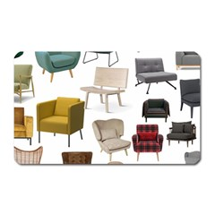 Furnitur Chair Magnet (rectangular) by Mariart