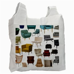 Furnitur Chair Recycle Bag (one Side) by Mariart