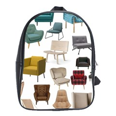 Furnitur Chair School Bag (large) by Mariart