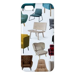 Furnitur Chair Apple Iphone 5 Premium Hardshell Case by Mariart