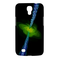 Gas Yellow Falling Into Black Hole Samsung Galaxy Mega 6 3  I9200 Hardshell Case by Mariart
