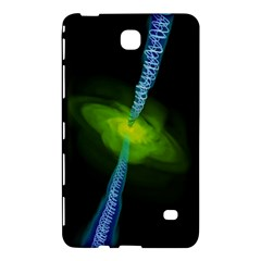 Gas Yellow Falling Into Black Hole Samsung Galaxy Tab 4 (7 ) Hardshell Case  by Mariart