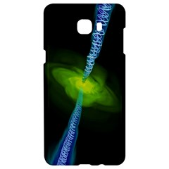 Gas Yellow Falling Into Black Hole Samsung C9 Pro Hardshell Case  by Mariart